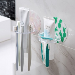 MeyJig 1 PC plastikowy uchwyt na szczoteczki do zębów pasta do zębów stojak do przechowywania maszynka do golenia szczotka do zę