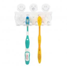 Wielofunkcyjny uchwyt na szczoteczkę do zębów pudełko do przechowywania łazienka produkty akcesoria łazienkowe przyssawki szczot