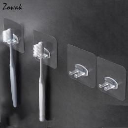 4 sztuk szczoteczki do zębów uchwyt przezroczysty stojak podróżny wc golarka organizator dla dzieci szczotka do zębów do przecho