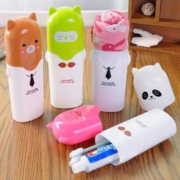 1 PC piękny ręcznik uchwyt na szczoteczkę do zębów przypadku na zewnątrz podróży Camping pasty do zębów wielu Cap przechowywania