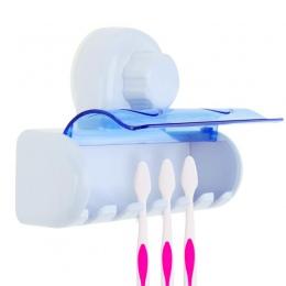 6 stojaki szczoteczki do zębów pyłoszczelna łazienka ssania uchwyt ścienny hak stoisko dla rodziny zębów opieki zdrowotnej akces