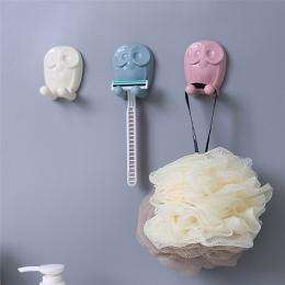 Nowa łazienka uchwyt na szczoteczkę do zębów 1 pc Cartoon naklejki kuchenne hak stojak na szczoteczki do zębów Cartoon gniazdo w
