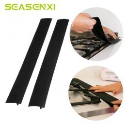 Elastyczne kuchenka licznik Gap pokrywa z gumy silikonowej kuchnia ropy naftowej, gazu i szczeliny wypełniacz mata żaroodporna o