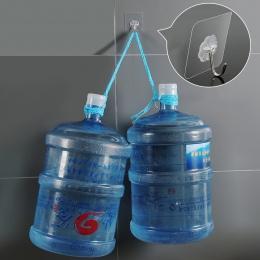4 sztuk łożyska 3KGS klej silny hak ścienny szczęście koniczyny przezroczyste haki kuchenne wodoodporne akcesoria łazienkowe zes