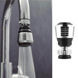1 sztuk oszczędzania wody obrotowy kuchnia łazienka kran Tap Adapter Aerator głowica prysznicowa dysza filtra złącze