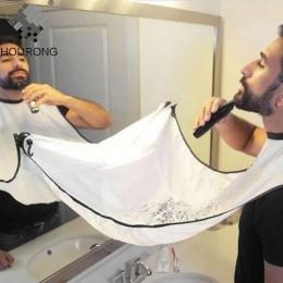 1 sztuk fartuch do golenia brody mężczyzn strzyżenie fartuch wodoodporny kwiatowy tkaniny do czyszczenia gospodarstwa domowego P