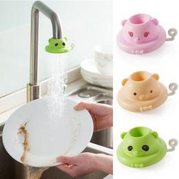 360 stopni obracanie oszczędzania wody z kranu Cartoon kreatywny łazienka akcesoria do domu kuchnia przedłużacz do kranu opryski
