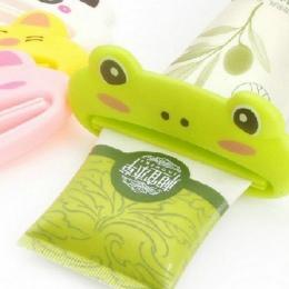 1 sztuk Cute Animal wielofunkcyjne wyciskacz/pasta do zębów pasta do zębów domu towarów łazienka Tube Cartoon dozownik pasty do