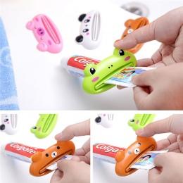 Domu rury wyciskacz łatwy do Cartoon dozownik pasty do zębów toczenia uchwyt na szczoteczki do zębów uchwyt kuchnia łazienka akc