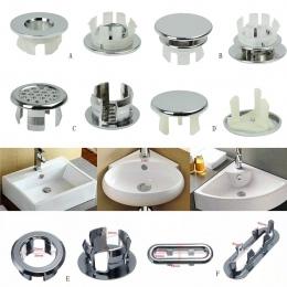 1 sztuk zlew otwór okrągły z przelewem doniczki ceramiczne umywalka umywalka przelewem obejmuje kuchnia hoteli w mieście: łazien