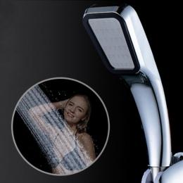 Akcesoria łazienkowe ręczny oszczędzania wody 300 otwór przenośny wzmacniacz oszczędzająca wodę słuchawka do prysznica pod ciśni