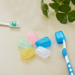 Gorąca sprzedaż 5 sztuka zestaw przenośna podróżna szczoteczka do zębów pokrywa szczotka do mycia Cap Case Box szczoteczki do zę