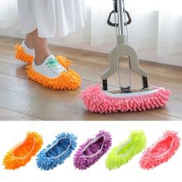 Podłogi kurz ściereczka z mikrofibry do czyszczenia pantofel leniwy Pokrowiec na buty Mop płyn do szyb domu tkaniny Clean okładk