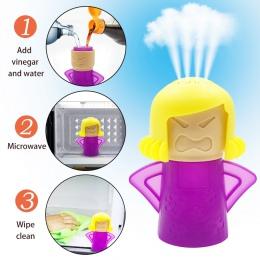Zły Mama mikrofalowa czystsze łatwo czyści kuchenka mikrofalowa odkurzacz parowy urządzeń do kuchni lodówka czyszczenia
