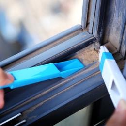 Wielofunkcyjny komputer szczotka do czyszczenia okien okiennych Nook Cranny łopata do kurzu okno utwór do czyszczenia