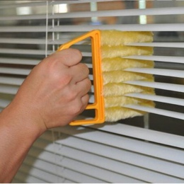 Przydatna szczotka do czyszczenia okien z mikrofibry klimatyzator do czyszczenia kurzu z nadający się do prania weneckie żaluzje