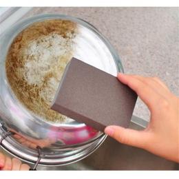 Do czyszczenia kuchni gumka garnek Nano gąbka z melaminy Cleaner wielofunkcyjny do usuwania kamienia kotłowego plamy piasek gąbk
