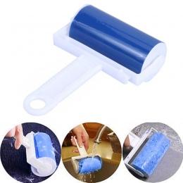 Przyrząd do usuwania sierści szczotki zmywalny lepki wałek ubrania czyszczenie rolki usuwanie kłaków wielokrotnego użytku pyłu w