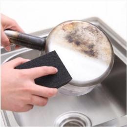 Nano gąbka magiczna gumka do usuwania rdzy do czyszczenia bawełny gąbka szmerglowa dostawy kuchenne odkamienianie oczyść Pot