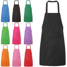 Nowe kolorowe pani kobieta fartuch domu kuchnia szef kuchni fartuchy restauracja gotowanie pieczenie sukienka zwykły fartuch kie