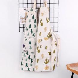 1 sztuk pledy paski pościel bawełniana fartuch kobieta śliniaki dla dorosłych domowe gotowanie pieczenia kawy czyszczenie fartuc