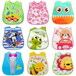EVA dla dzieci wodoodporny obiad śliniaki noworodka dla dzieci Cute Cartoon karmienia tkaniny ręczniki dzieci fartuch akcesoria