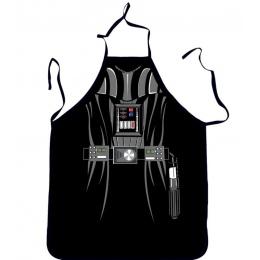 Nowość śmieszne fartuch Star Wars czarny bojowników fartuch kuchenny Dinner Party fartuch kuchenny dla dorosłych Cozinha Tablier