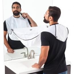 Człowiek łazienka broda pielęgnacja trymer do golenia włosów fartuch Bib suknia Robe Sink style Tool czarny biały nowy