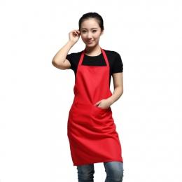 WITUSE kobiety fartuch z kieszeniami gotowania w kuchni w kuchni sklep Art praca fartuch koreański kelner Aprons'