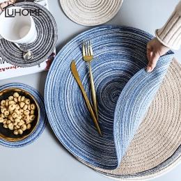 Okrągły projekt stół Ramie izolacji Pad stałe podkładki pościel antypoślizgowe mata stołowa kuchnia akcesoria do dekoracji domu