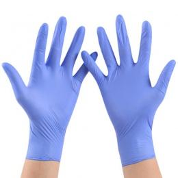 50 lub 100 sztuk jednorazowe rękawice lateksowe do czyszczenia w domu medyczne/jedzenie/guma/rękawice ogrodowe uniwersalne do le
