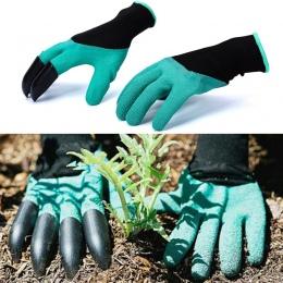 Rękawice ogrodowe z palcami pazury szybkie łatwe do kopania i bezpieczne dla roślin rękawice do przycinania liści rękawice do ko