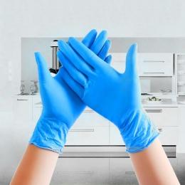 20 sztuk/partia jednorazowe rękawice lateksowe czyszczenia żywności uniwersalne gospodarstwa domowego ogród rękawice do sprzątan