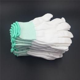5 par rękawice kuchenne rękawice ogrodowe białe rękawiczki ogrodnicze z bawełny, rękawice robocze budowlane ręczne do obróbki dr