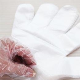 50/100 sztuk/partia plastikowe przezroczyste jednorazowe rękawice rękawice kuchenne jednorazowe restauracja usługi domowe Cateri