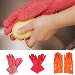 2 sztuk/para kreatywny obrane ziemniaki rękawice do sprzątania kuchnia warzyw pocierać owoce skrobanie ryb skala antypoślizgowe