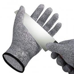 1 para Anti-cut rękawice odporne na uderzenia odporne na uderzenia drut ze stali nierdzewnej metalowe kuchenne Butcher odporne n