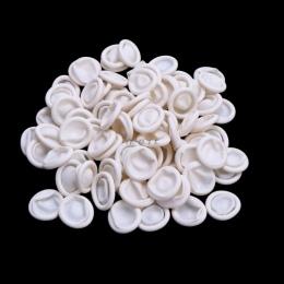 100 sztuk jednorazowe gumowe lateksowe nakładki na palce zestawy palców rękawice ochronne