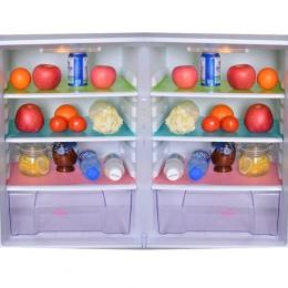 Hoomall 4 sztuk/zestaw lodówka wodoodporna maty wilgoci Tailorable Pad dla kuchni podkładka chłodząca antybakteryjna farba przec