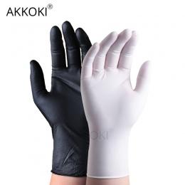 50 sztuk/partia jednorazowe rękawice lateksowe uniwersalny rękawice do sprzątania wielofunkcyjne Home Food Medical Cosmetic jedn