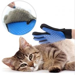 Do pielęgnacji zwierząt domowych rękawica do pielęgnacji dla kotów do usuwania włosów rękawice z jednym palcem Deshedding szczot
