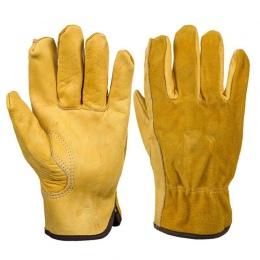 AsyPets oryginalne rękawice skórzane antypoślizgowe sterownik rękawice ogrodowe do naprawy mechanicznej Vehicle-25