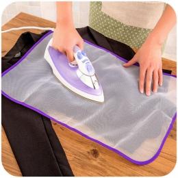 1 pc pokrywa na deskę do prasowania prasowanie ochronne siatki żelazko do prasowania tkaniny straż ochrony delikatne ubrania odz