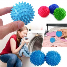 5.5/6.5 cm z tworzywa sztucznego piłkę do prania doskonałe szybciej do mycia suszarka piłki mycie narzędzie do czyszczenia