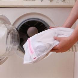 Moda! 9 rozmiarów zapinana na suwak składana nylonowa torba na pranie biustonosz skarpetki bielizna pralka do odzieży siatka och