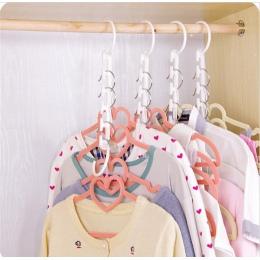 New arrival 3D oszczędność miejsca miejsca wieszak cabide ubrania wieszak nowy gorący darmowa wysyłka