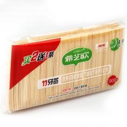 2019 nowy podwójne bambusowe do pielęgnacji jamy ustnej wykałaczki drewniane zielony naturalny szpiczasty