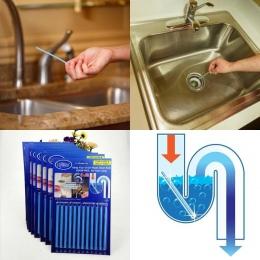 12 sztuk/zestaw patyczki odkażanie ścieków do dezodorantu kuchnia toaleta wanna środek do udrażniania odpływów kanalizacji pręt