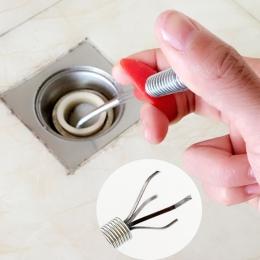 Do gięcia ręka ciśnienia kanałów klip urządzenie śmieci do pogłębiania czerpaków uchwyt do włosów narzędzie do czyszczenia drena