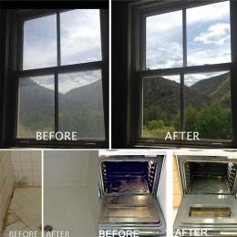 1 sztuk = 4L nowy wielofunkcyjny środek czyszczący w środek czyszczący w sprayu-środek do czyszczenia szkła koncentruje się okno